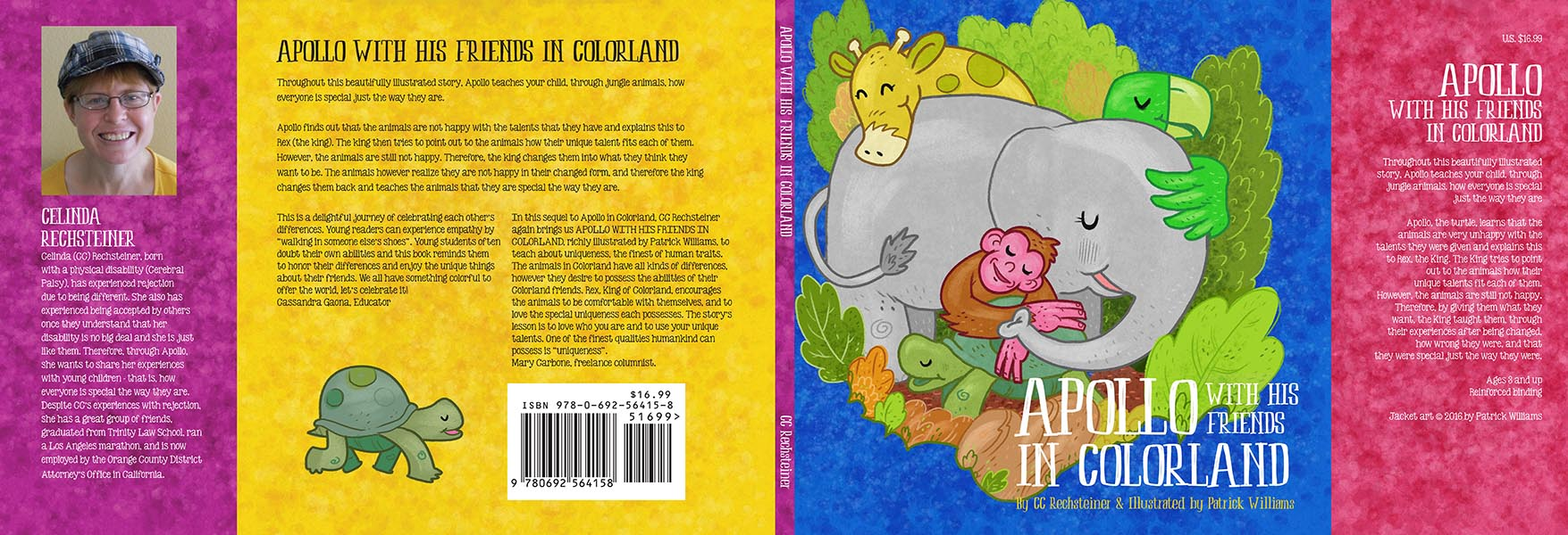 Apollo and His Friends in Colorland dust jacket