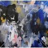 2016 oil and acrylic on canvas 34X34